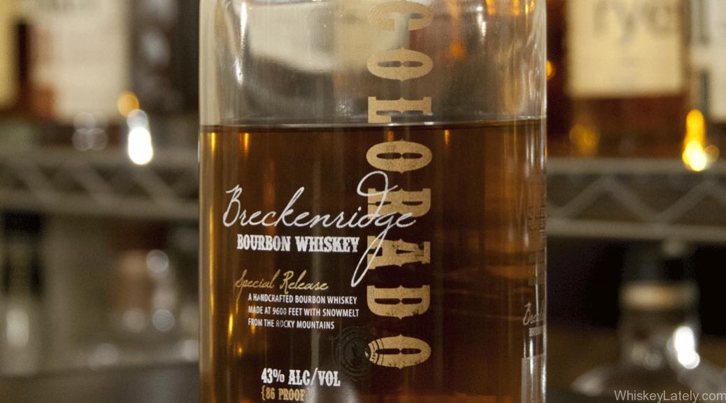 Breckenridge Bourbon Feature Bottle