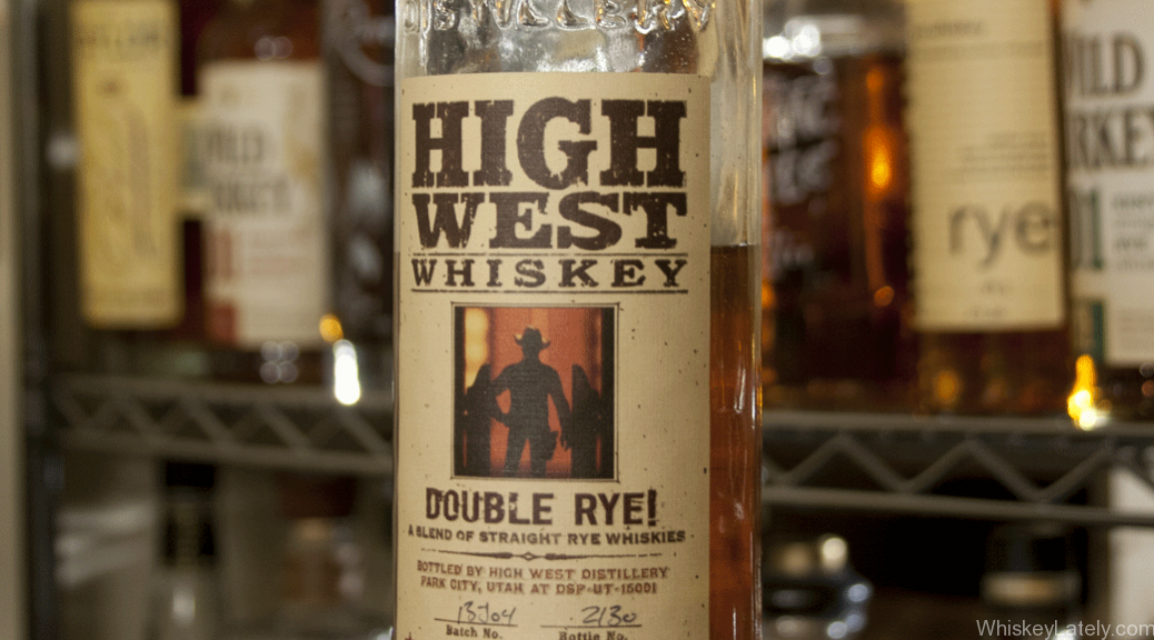 High West Double Rye Bottle