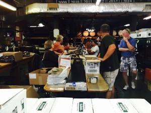 Buffalo Trace Distillery Blanton's Bottling Line