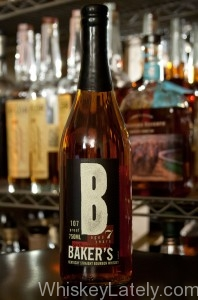 Baker's Bourbon Bottle