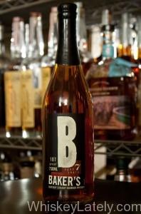 Baker's Bourbon Bottle