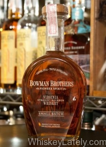 Bowman Brothers Small Batch Bottle