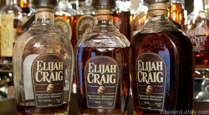 Elijah Craig 12 Barrel Proof Batches 3. 4. 5