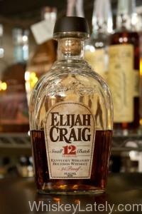 Elijah Craig 12 Bottle