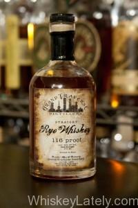 Grand Traverse Cask Strength Rye Whiskey