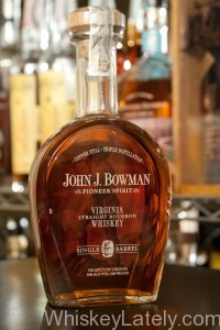 John J Bowman Bottle