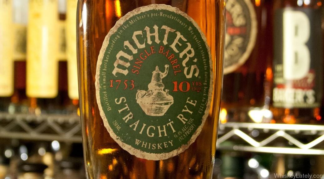 Michter's Single Barrel 10 Rye Feature
