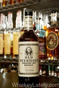 Old Overholt Rye Bottle