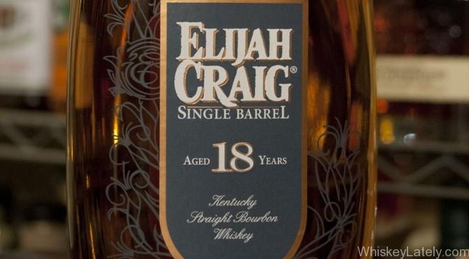 Elijah Craig 18