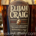 Elijah Craig 12 Barrel Proof