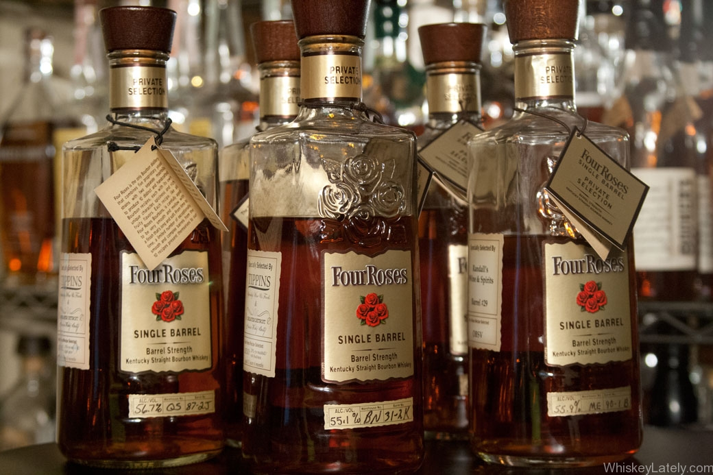 This is a photo of Adorable Four Roses Black Label