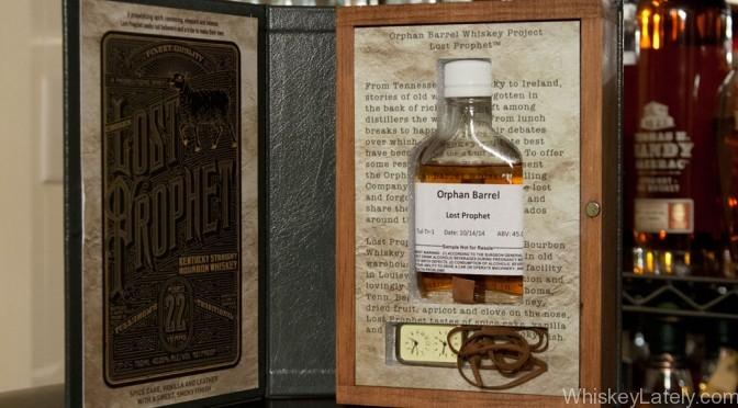 Lost Prophet Bourbon from Orphan Barrel