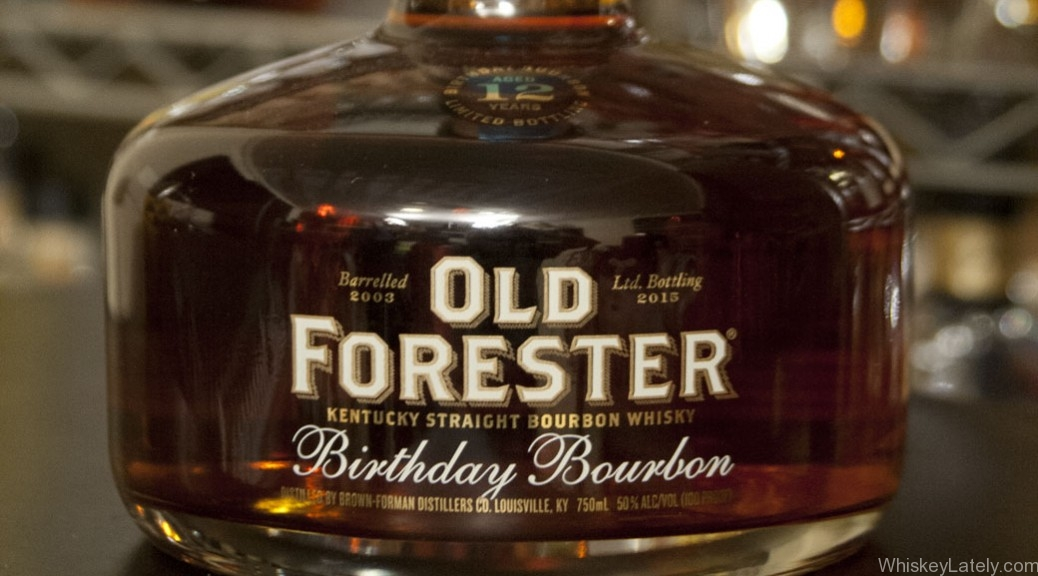 Old Forester Birthday Bourbon (2015)