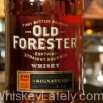 Old Forester Signature Feature